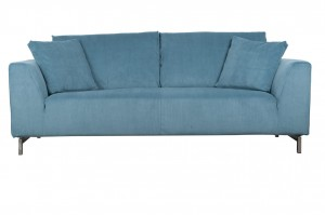 SOFA DRAGON 3-SEATER RIB NIEBIESKA